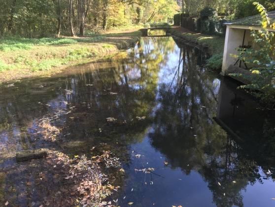 Vannage fermé : retenue d'eau stagnante